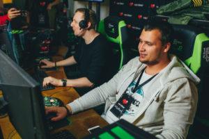 Игровые кресла WARP на мероприятии Google, посвященном запуску YouTube Gaming Россия